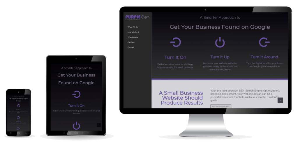 Responsive Website Designer in Michigan - Purple-Gen.com