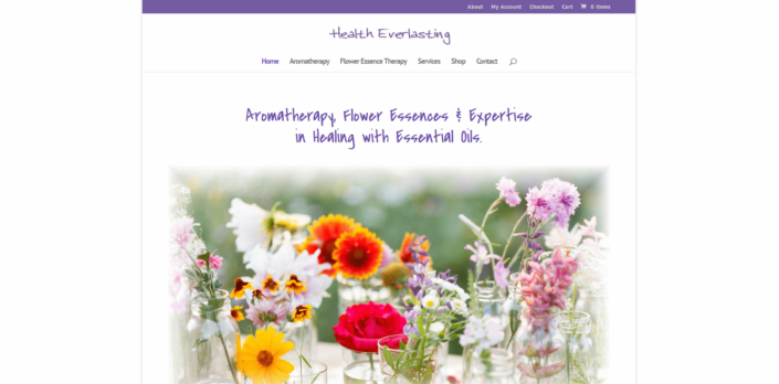 Health Everylasting - Small Business Website by Purple Gen