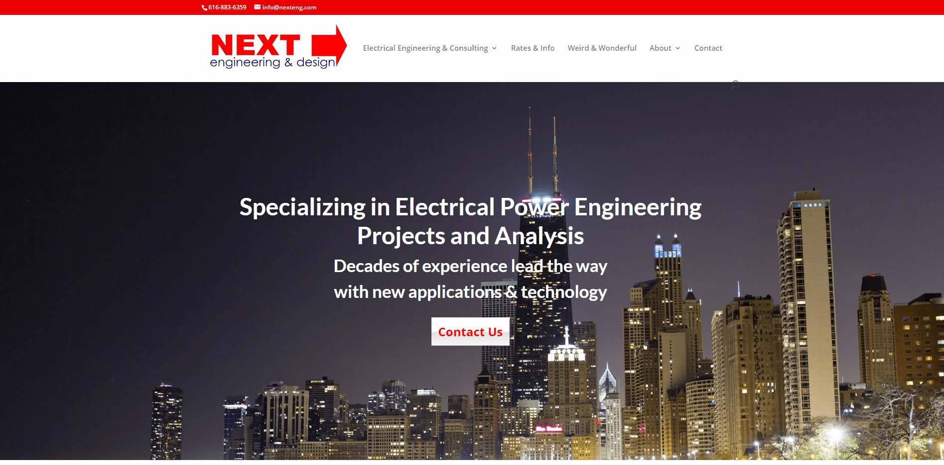 Next Engineering - Small Business Website by Purple Gen