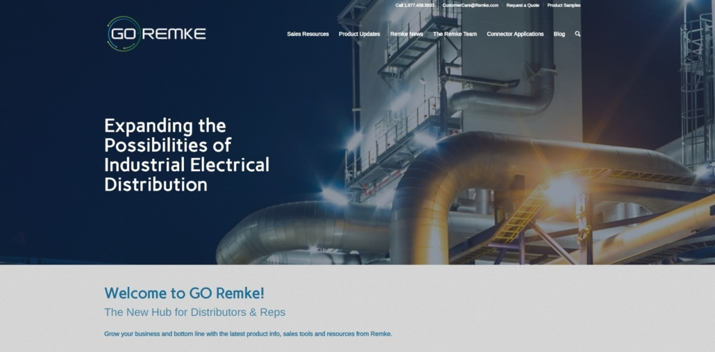 GO Remke - Website Design by Purple Gen