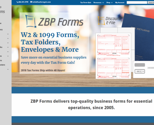 ZBP Forms - Small Business Website by Purple Gen
